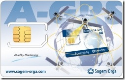 Sagem A-GPS Sim